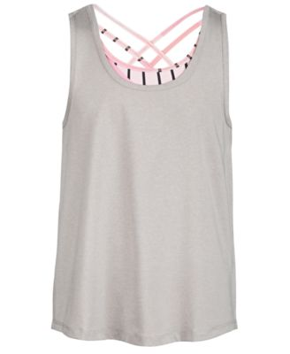 Big Girls Layered-Look Tank Top, Created for Macy's