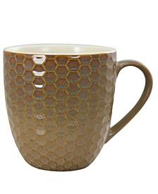 Honeysuckle 6 Piece 15 Ounce Mug Set, Assorted Colors
