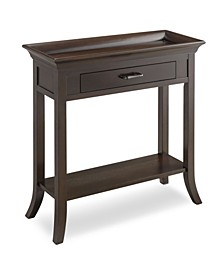 Home Traditional Cherry Tray Edge Hall Stand