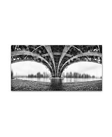 "Em Photographies 'Under The Iron Bridge' Canvas Art - 47"" x 24"" x 2"""