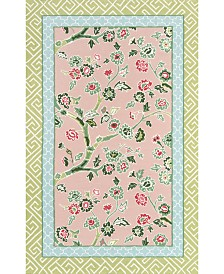 "Under The Loggia   Blossom Dearie 3'9"" x 5'9"" Indoor/Outdoor Area Rug"