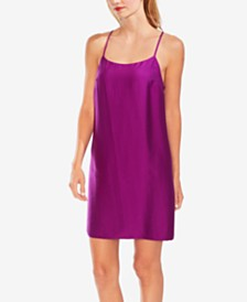 Vince Camuto Textured Slip Dress