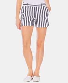 "Vince Camuto Striped 4"" Boardwalk Shorts"