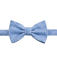 Ryan Seacrest Distinction™ Men's Savine Tonal Paisley Pre-Tied Bow Tie, Created for Macy's