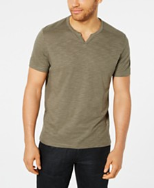 I.N.C. Men's Ribbed Split Tee