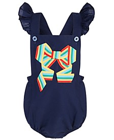 Baby Girl Bow Sunsuit