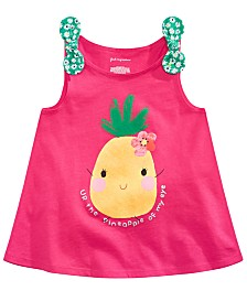 First Impressions Baby Girls Pineapple-Print Tank Top, Created for Macy's