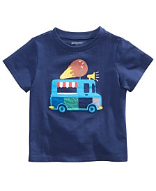 First Impressions Baby Boys Cotton Ice Cream Truck T-Shirt, Created for Macy's