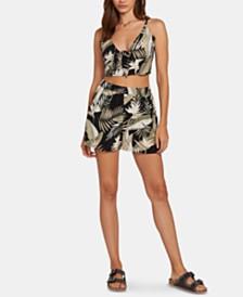 Volcom Juniors' Floral Print Shorts