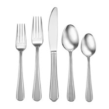 Studio Cuisine Satin Eastlyn 20-PC Flatware Set