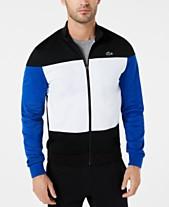 b129942f146f Lacoste Men s Colorblocked Track Jacket