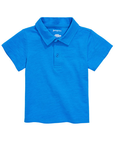 First Impressions Toddler Boys Cotton Polo, Created for Macy's
