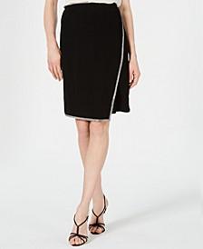 Rhinestone-Trim Skirt, Created for Macy's