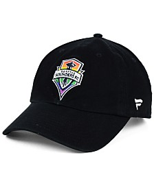 Authentic MLS Headwear Seattle Sounders FC Pride Strapback Cap