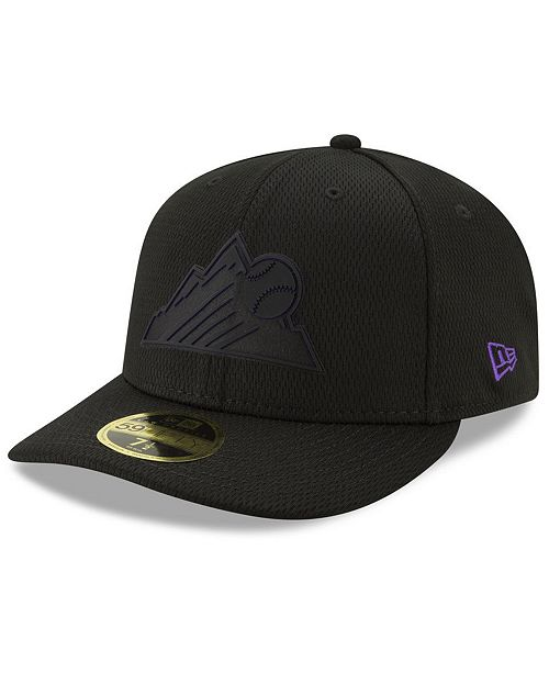 New Era Colorado Rockies Clubhouse Low Profile 59FIFTY-FITTED Cap