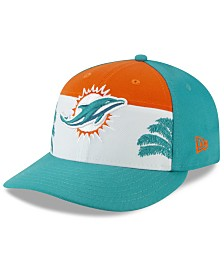 New Era Miami Dolphins Draft Low Profile 59FIFTY-FITTED Cap
