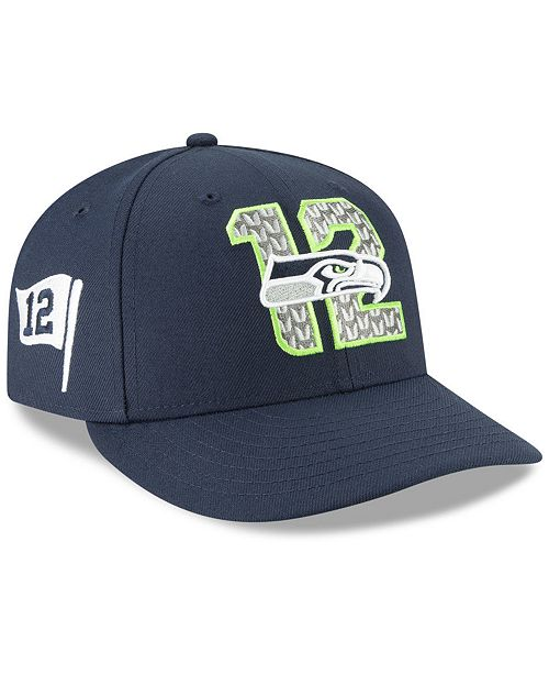 New Era Seattle Seahawks Draft Low Profile 59FIFTY-FITTED Cap