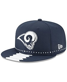 New Era Los Angeles Rams Draft 9FIFTY Snapback Cap