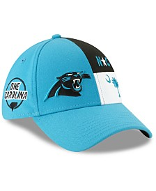 New Era Carolina Panthers Draft 39THIRTY Stretch Fitted Cap