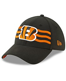 New Era Cincinnati Bengals Draft 39THIRTY Stretch Fitted Cap