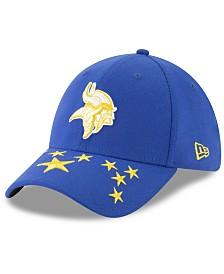 New Era Minnesota Vikings Draft Spotlight 39THIRTY Cap
