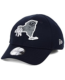 New Era Big Boys New York Yankees State Flective 2.0 39THIRTY Stretch Fitted Cap