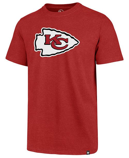 '47 Brand Men's Kansas City Chiefs Imprint Club T-Shirt