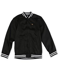 LRG Men's Graphic Bomber Jacket