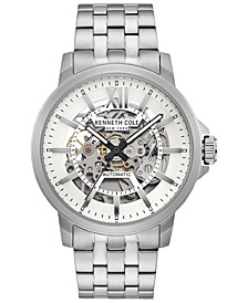 Men's Automatic Stainless Steel Bracelet Watch 43.5mm