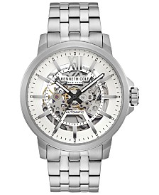 Kenneth Cole New York Men's Automatic Stainless Steel Bracelet Watch 43.5mm