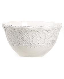 Maison Versailles Blanc Elisabeth Cereal Bowl