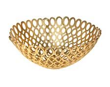 Godinger Oval Rings Bowl