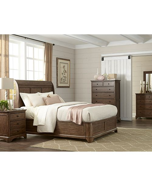 Gunnison Solid Wood Storage Bedroom Furniture Collection