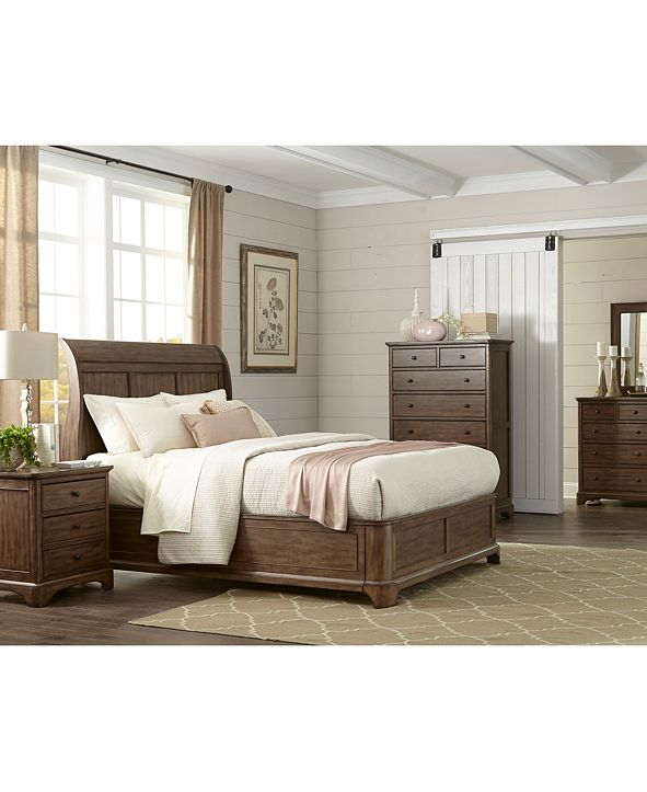 Furniture Gunnison Solid Wood Bedroom Furniture Collection