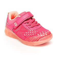 Toddler Girls Made2Play Lighted Neo Sneakers