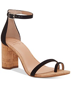 614504bf54871 I.N.C. Women's Wanada Toe-Ring Block-Heel Sandals, Created for Macy's