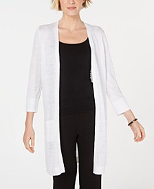 3/4-Sleeve Duster Cardigan
