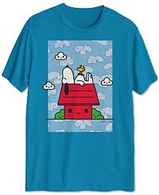 Peanuts Collection- Men's Snoopy Daydream Graphic T-Shirt