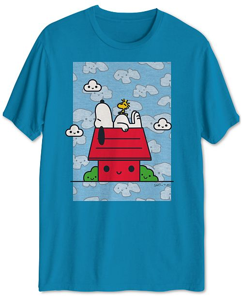 Jem Peanuts Collection- Men's Snoopy Daydream Graphic T-Shirt