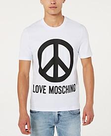 Men's Peace Logo Graphic T-Shirt