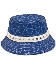 Sean John Men's Logo Graphic Bucket Hat
