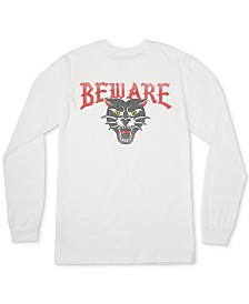 RVCA Men's Beware Logo Graphic T-Shirt