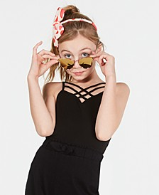 Criss-Cross Shelf Camisole, Wear Me Two Ways, Big Girls, Created for Macy's