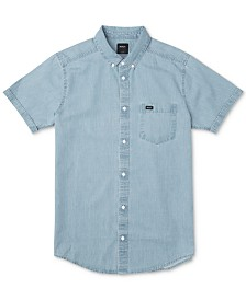RVCA Men's Denim Shirt