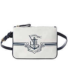 Lauren Ralph Lauren Huntley Logo Plus-Size Belt Bag