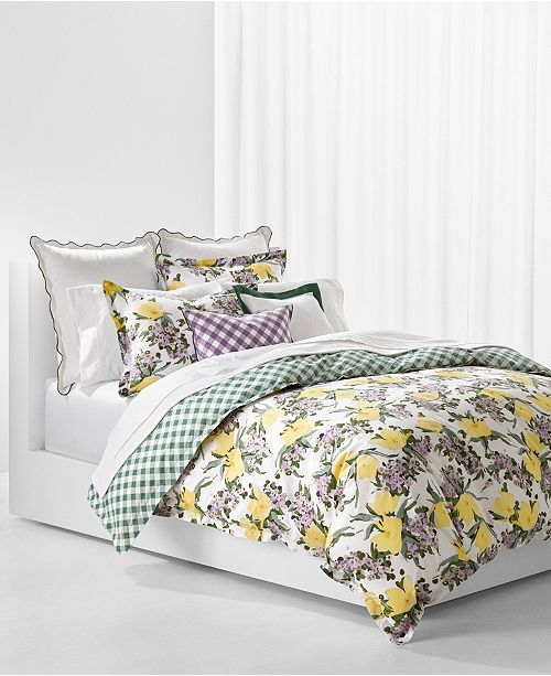 Lauren Ralph Lauren PRICE BREAK! Marabella King Duvet Set