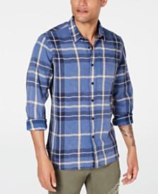 American Rag Men's Xavier Plaid Shirt, Created for Macy's