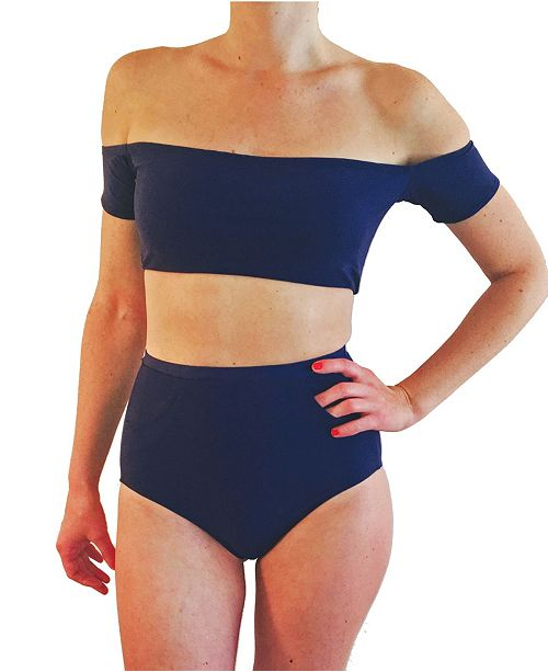Krupa Couture High Waisted Bottoms With Pockets