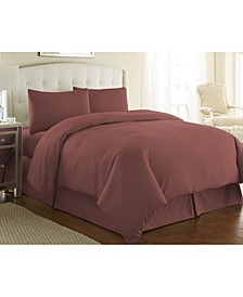 Ultra - Soft and Modern 3 Piece Duvet Cover and Sham, Twin/Twin XL