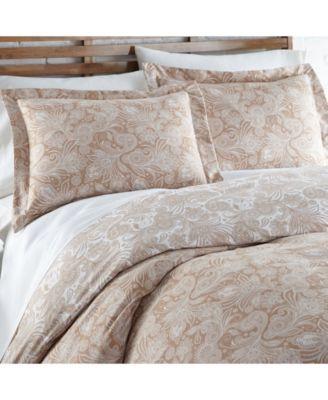 Perfect Paisley Down Alt 3 Piece Reversible Comforter Set, Twin/Twin XL